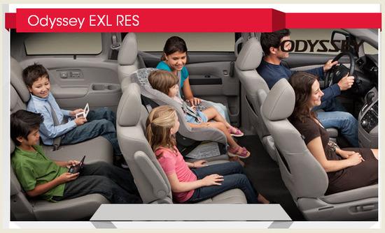 Honda Odyssey EXL RES 2012