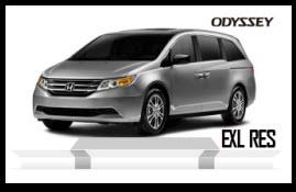 Nuevo Honda Odyssey EXL RES