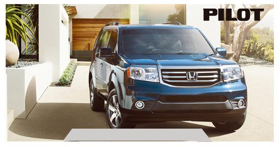 Honda Pilot EXL 2012