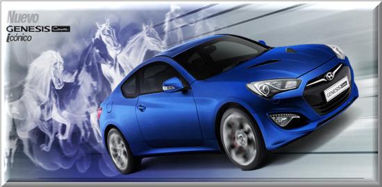Hyundai Genesis Cuope Iconico 2012