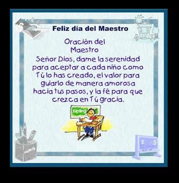 Imagen para el Facebook Día del Maestro
