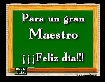 Imagen para el Facebook Dia del Maestro