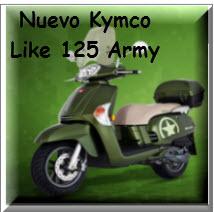 Nuevo Kymco Like 125 Army