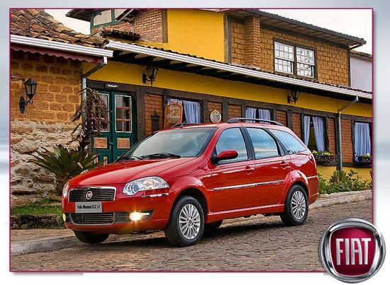 Nuevo Fiat Palio Weekend ELX