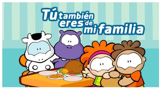 Postales Dia Internacional de la Familia