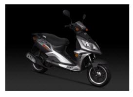 Nueva Scooter UM GP1 150R