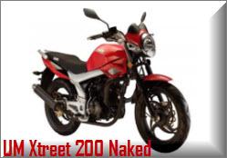 Nueva UM Xtreet 200 Naked
