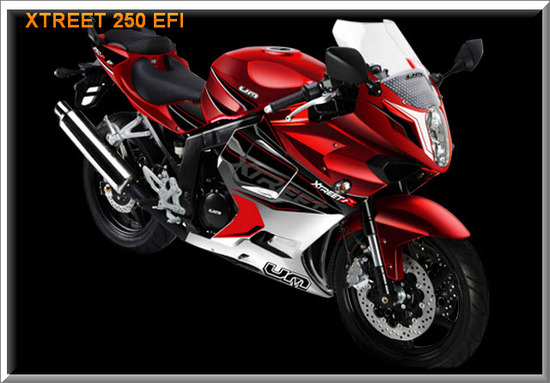 UM Xtreet 250 EFI 2012