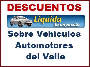 Descuentos en el pago de impuestos de vehículos particulares 2012