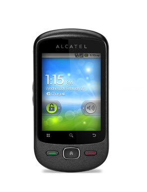 Alcatel One Touch 906, diseño exterior