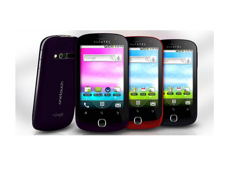 Alcatel One Touch 990, Navega por internet a través de Google Chrome