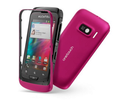 Alcatel One Touch Mix 918, carcasas intercambiables