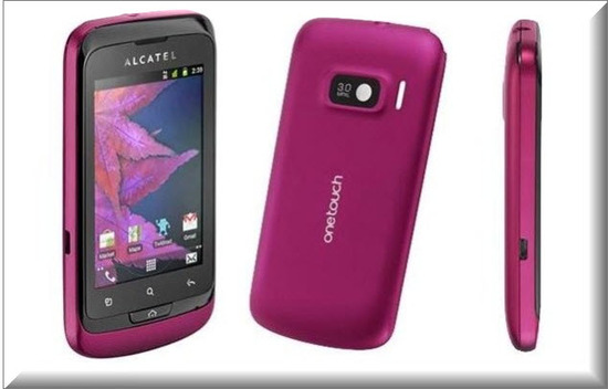 Alcatel One Touch Mix 918, vista exterior
