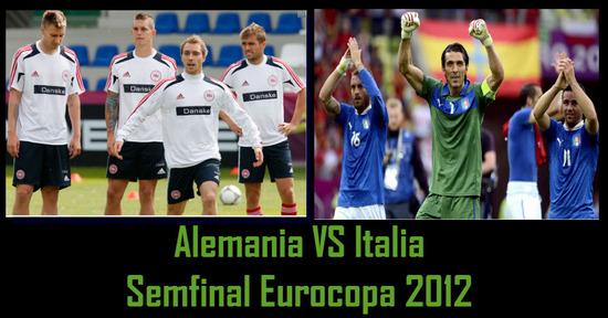 Alemania Vs Italia Semifinal