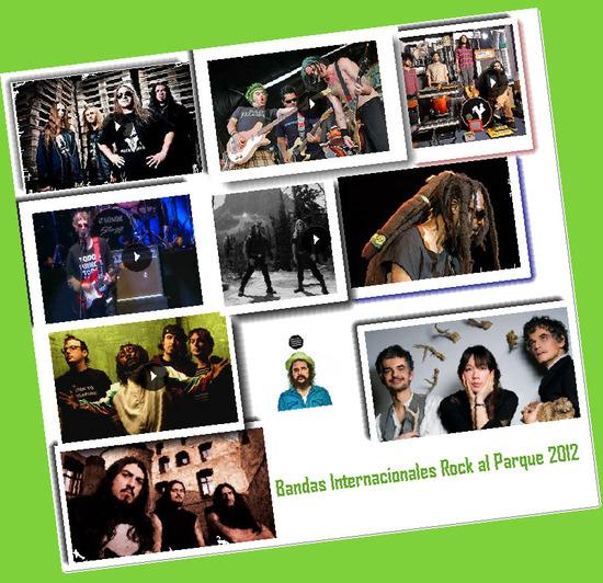 Bandas Internacionales, Rock al Parque 2012