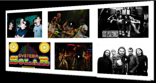 Bandas Nacionales, Rock al Parque 2012