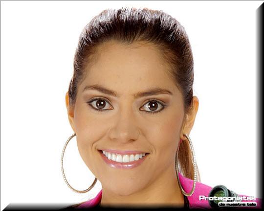 Diana Cortez, Participante Protagonistas de Nuestra Tele 2012