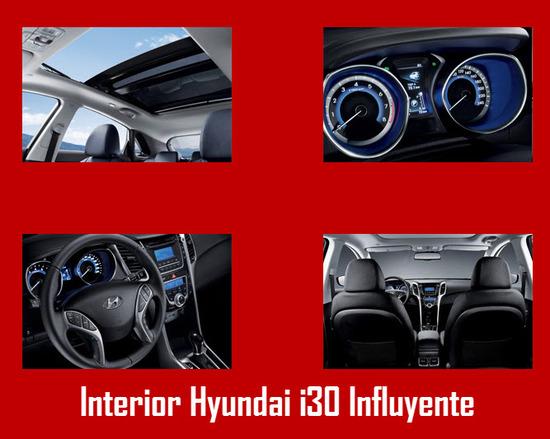 Diseño interior Hyundai i30 Influyente