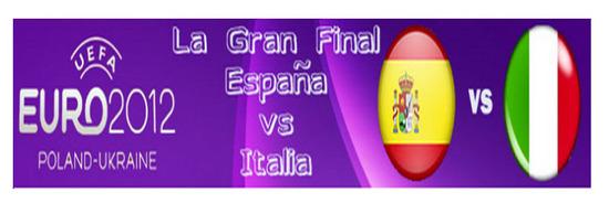 Espa?a VS Italia Euro 2012