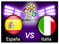 España VS Italia Final Eurocopa 2012