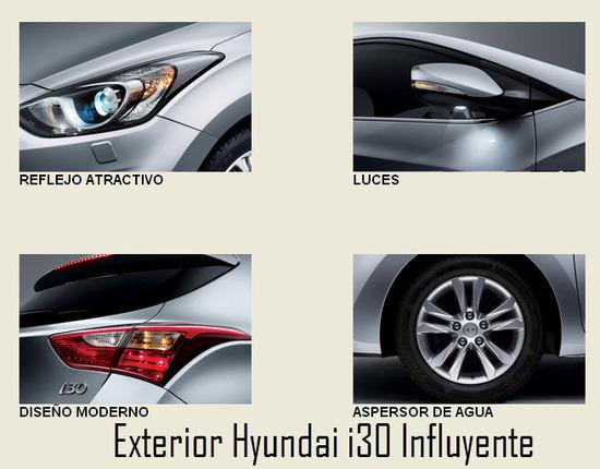 Hyundai i30 Influyente, diseño exterior