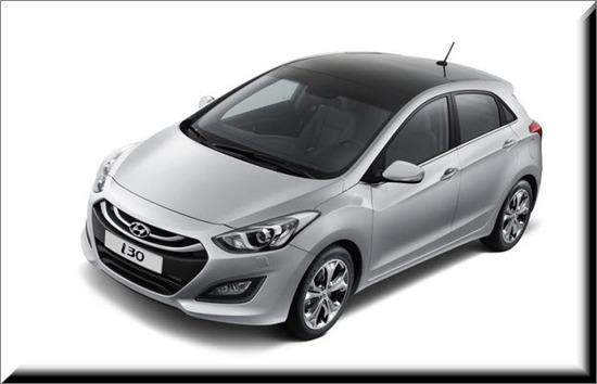 Hyundai i30 Influyente, vista lado izquierdo