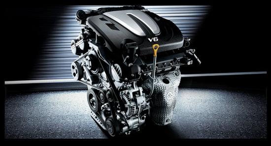 Kia Cadenza, motor