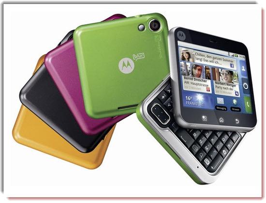 Motorola Flipout, carcazas intercambiables