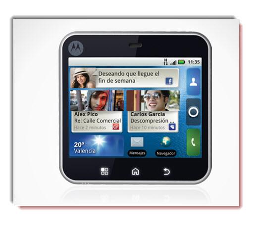 Motorola Flipout, diseño