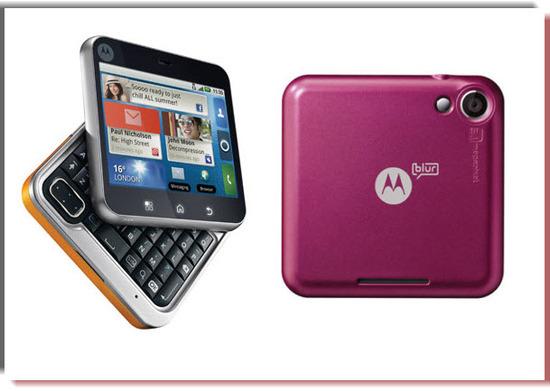 Motorola Flipout, vista exterior