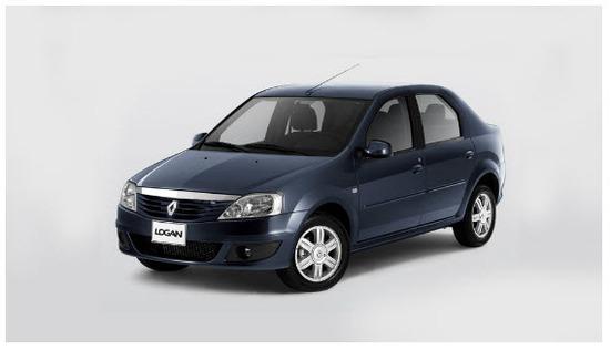 Nuevo Renault Logan, Vista lado izquierdo