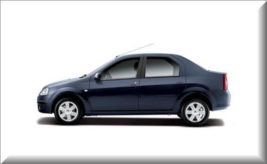 Nuevo Renault Logan, Vista lateral