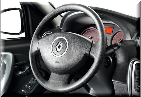 Nuevo Renault Logan, volante direccional