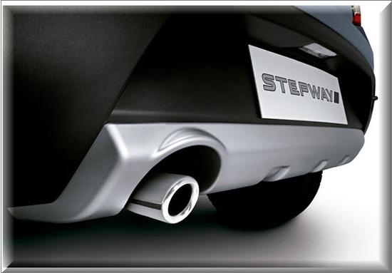 Nuevo Renault Sandero Stepway, calcomania