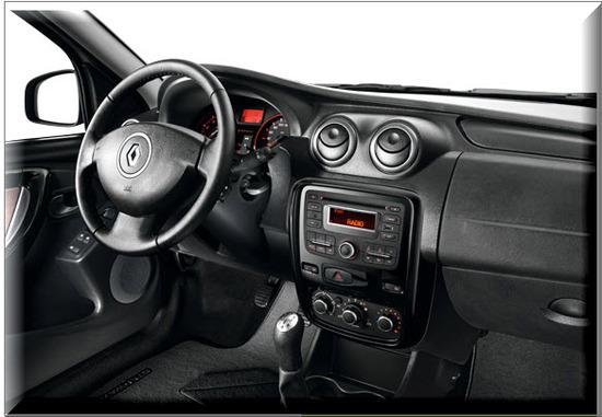 Nuevo Renault Sandero Stepway , diseño interior