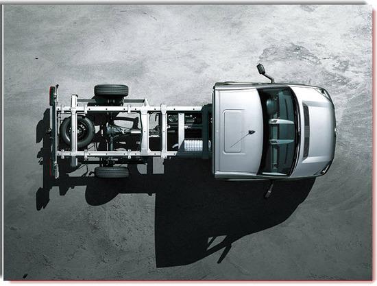 Nuevo Volkswagen Crafter Chasis, diseño exterior