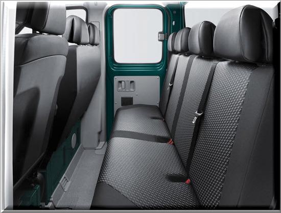 Nuevo Volkswagen Crafter Chasis, sillas