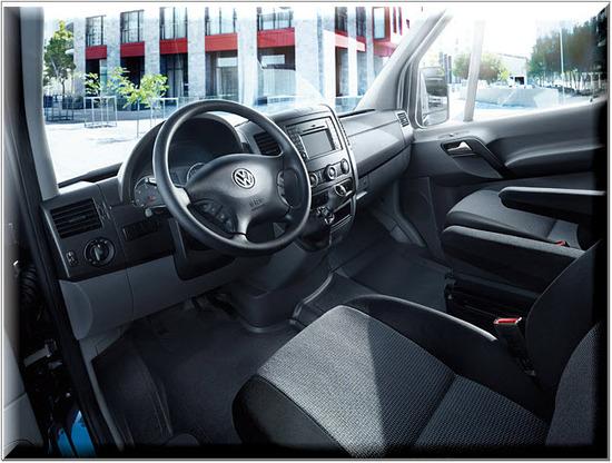 Nuevo Volkswagen Crafter Plataforma, diseño interior