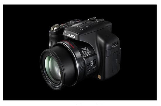 Panasonic Lumix FZ150 ,diseño exterior