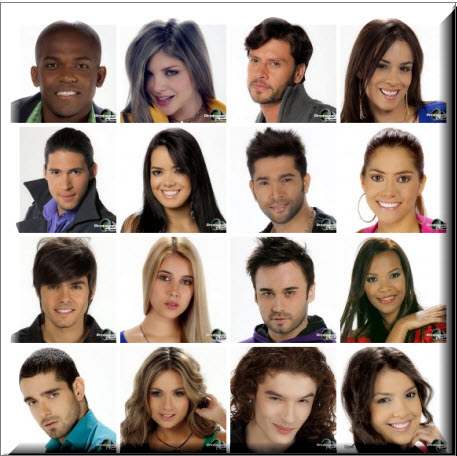 Participantes Protagonistas de Nuestra Tele 2012