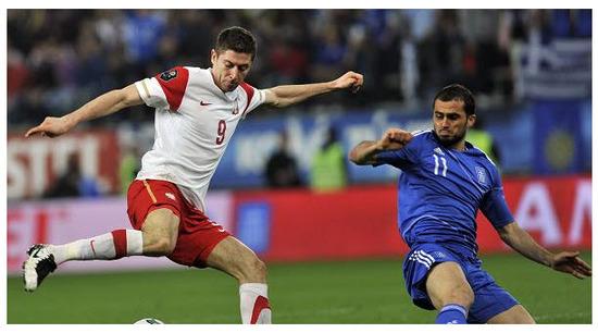 Polonia VS Grecia Eurocopa 2012