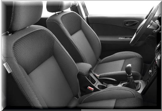 Renault Koleos 2012, asientos delanteros