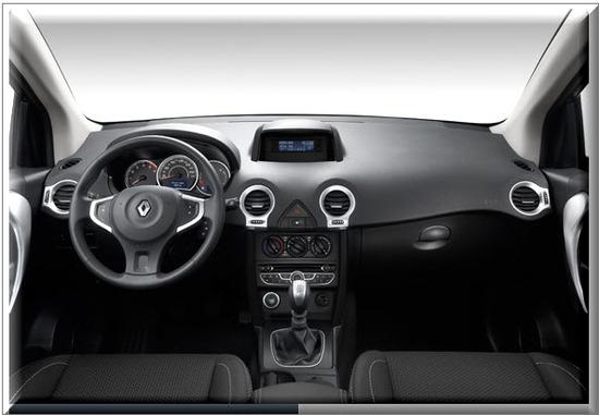 Renault Koleos 2012, diseño interior