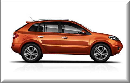 Renault Koleos 2012, vista lateral