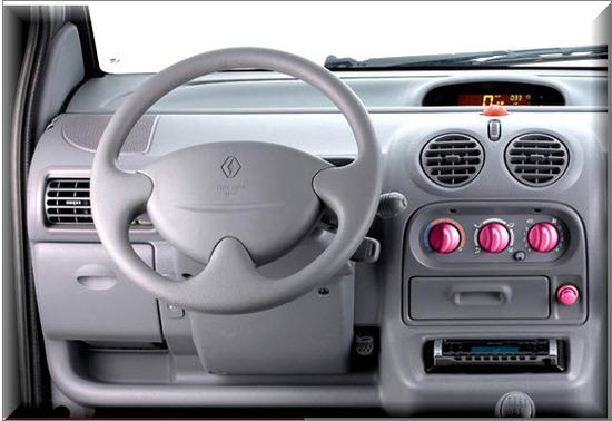 Renault Twingo Colombia 2012, diseño interior