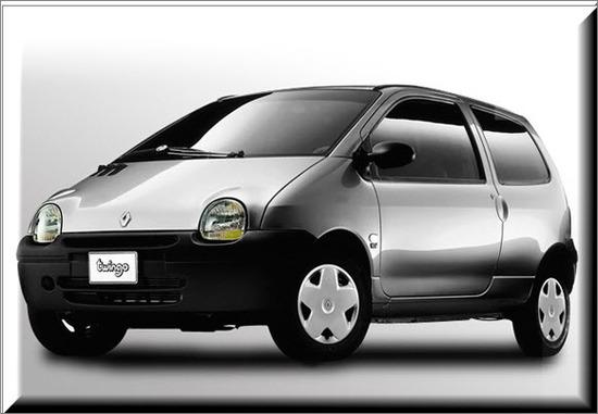 Renault Twingo Colombia 2012, vista lado izquierdo