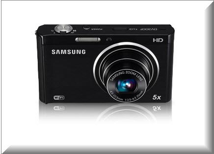 Samsung DV300F, diseno exterior