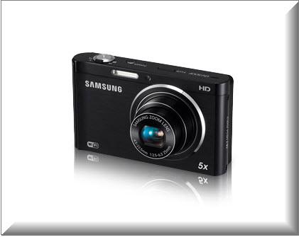Samsung DV300F, vista exterior