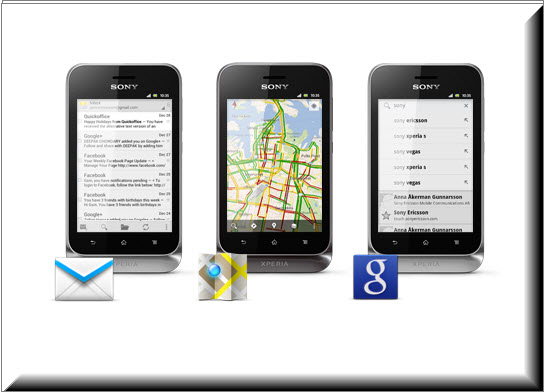 Sony Xperia Tipo Dual, redes sociales