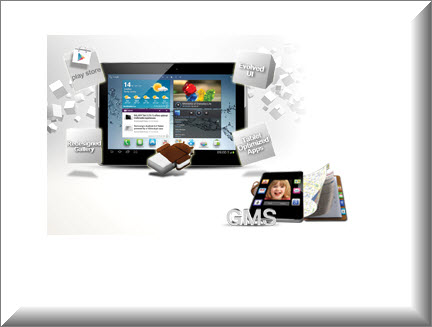 Tablet Samsung P5100 3G, Android